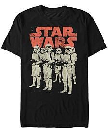 Star Wars Men's Classic Stormtroopers Group Short Sleeve T-Shirt