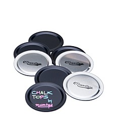 Chalk Top Canning Regular Mouth Jar Lids - Pack of 8