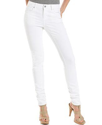 DKNY Jeans Soho Skinny, White Wash - Jeans - Women - Macy's