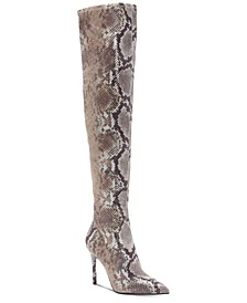 Livelle Over-The-Knee Stretch Boots