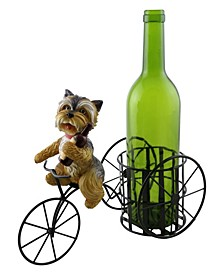 Dog with Bottle Wine Bottle Holder