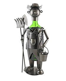 Farmer Wine Bottle Holder