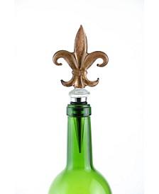 Fleur De Lis Bottle Stopper