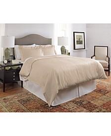 450 Thread Count Dobby Cotton King/California King Duvet Set