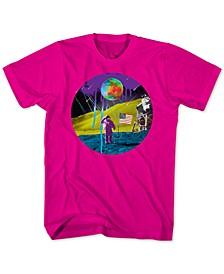 Neon Moon Landing Men's Graphic T-Shirt