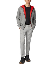 BOSS Men's Zmax Relaxed-Fit Jersey Jacket