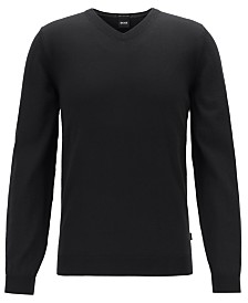 BOSS Men's V-Neck Sweater