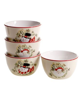 Believe 4-Pc. Ice Cream Bowl
