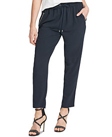 DKNY Drawstring Ankle Pants