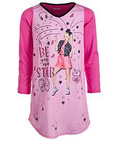 AME Big Girls Jojo Siwa Colorblocked Nightgown