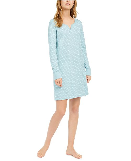 Charter Club Women's Cotton Nightgown, Created For Macy's