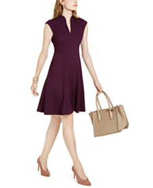 Nanette Lepore Fit & Flare Dress, Created for Macy's