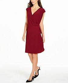 Alfani Hardware Wrap Dress, Created for Macy's