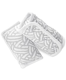 Baby Boys & Girls 2-Pk. Pasture Printed Strap Covers