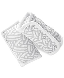 aden by aden + anais Baby Boys & Girls 2-Pk. Pasture Printed Strap Covers