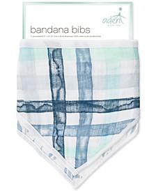 Baby Boys 2-Pk. Retro Cotton Bandana Bibs