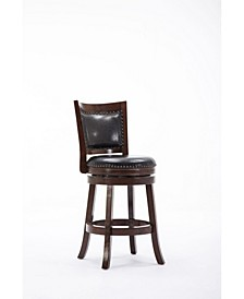 "Bristol Collection 24"" Swivel Bar Stool"