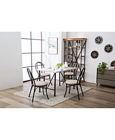 Anders Collection 5 Piece Dining Set