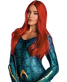 Women's Aquaman Movie Adult Mera Wig