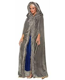 BuySeasons Women's Faux Fur Trimmed Cape