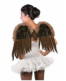 BuySeasons Women's Exotic Feather Wings