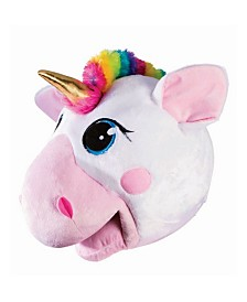 BuySeasons Adult Mascot Mask Unicorn