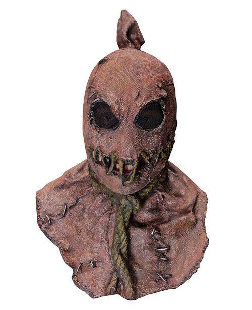 BuySeasons Creepy Scarecrow Adult Mask