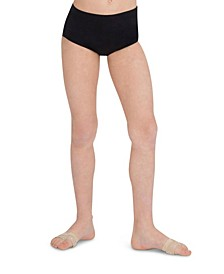 Little and Big Girls Children's Classic Stretch Dance Brief