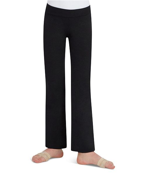 Capezio Little and Big Girls Children's Stretch Mid Rise Jazz Pant
