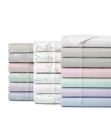 "Southshore Fine Linens Boutique Chic 22"" Extra deep, Pocket Sweetbrier Cotton Sheet Set"
