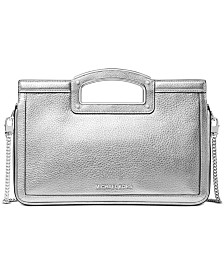 Michael Michael Kors Berkley Legacy Leather Clutch