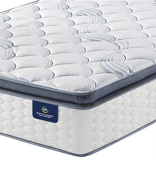 """Serta Special Edition II 13.5"""" Firm Pillow Top Mattress- King"""