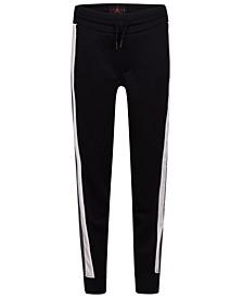Big Boys Colorblocked Mesh-Trim Jogger Pants