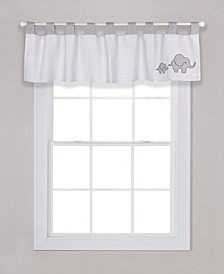 Chevron Safari Window Valance
