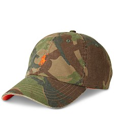 Polo Ralph Lauren Men's Cotton Slub Camo Sport Hat