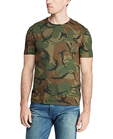 Men's Classic Fit Animated Camo Cotton T-Shirt