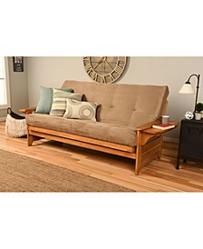 Phoenix Futon in Butternut Finish