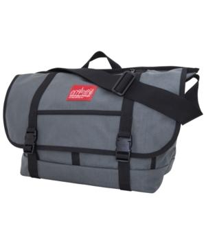 Manhattan Portage Large Ny Messenger Bag In Gray