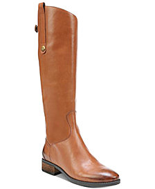 Sam Edelman Penny 2 Wide Calf Riding Leather Boots