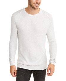 I.N.C. Men's Sway Textured Knit Sweater, Created For Macy's