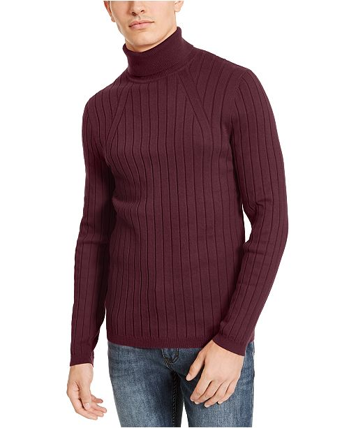 INC International Concepts INC Men's Elite Turtleneck Sweater, Created For Macy's