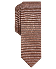 I.N.C. International Concepts Men's Solid Metallic Tie, Created For Macy's
