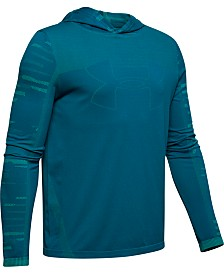Under Armour Big Boys Colorblocked Seamless Hoodie