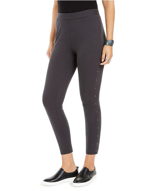 Style & Co Studded-Seam Leggings, Created for Macy's