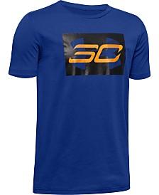 Under Armour Big Boys Stephen Curry SC30-Print T-Shirt