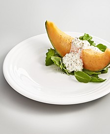 """White 9"""" Luncheon Plate"""