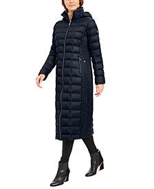 Michael Michael Kors Hooded Maxi Down Puffer Coat