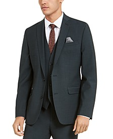 Men's Slim-Fit Active Stretch Solid Suit Jacket, Created for Macy's