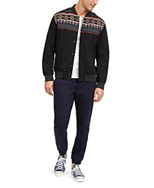 Cargo Jogger Pants & Jacquard Bomber Jacket, Created For Macy's