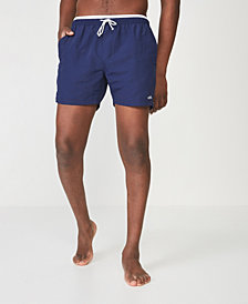 Cotton On Men's Solid Swim Trunks